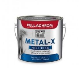 vernikoxroma gia metallikes epifaneies metal x pellachrom 750ml leuko mauro